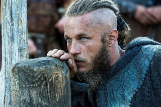 Ragnar Lothbrok padre duro en 'Vkings'
