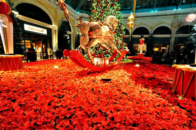 Decoração de Natal dos Cassinos de Las Vegas
