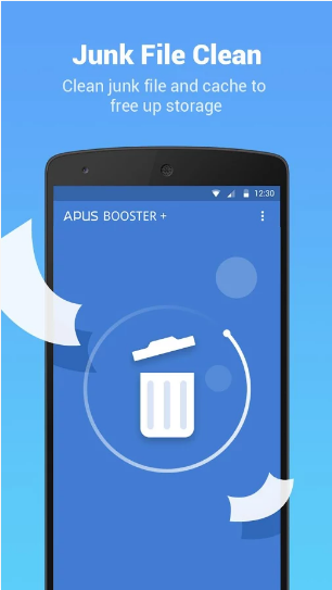 apus booster clean applock