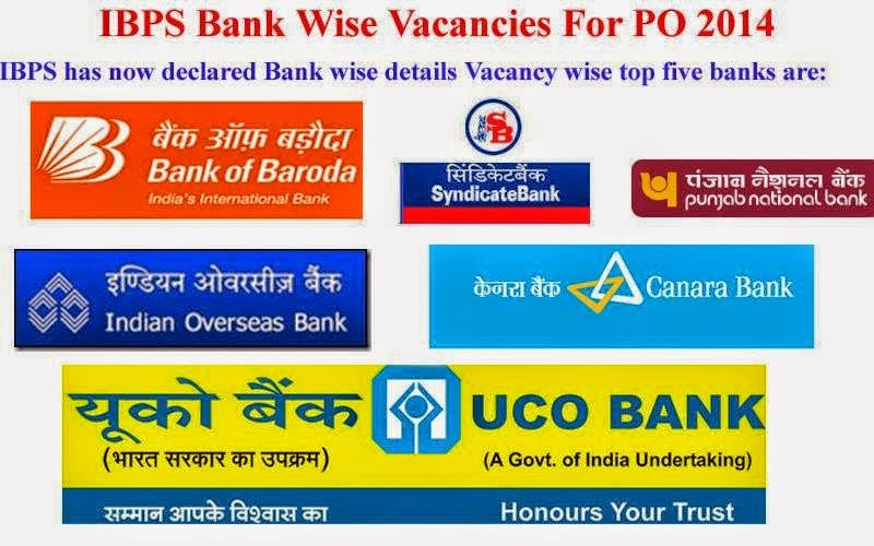 Ibps released bank wise vacancies for po 2014 freshers360 for Tata motors recruitment process