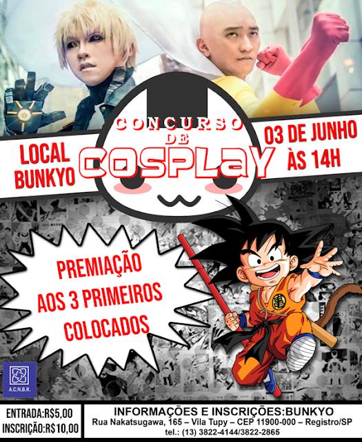 7ª edição do Concurso de Cosplay de Registro-SP
