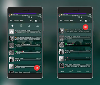 Download BBM MOD Transparent Plus Base v2.11.0.18 Apk