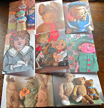 Cowboys & Custard Vintage Toy Collection Cards