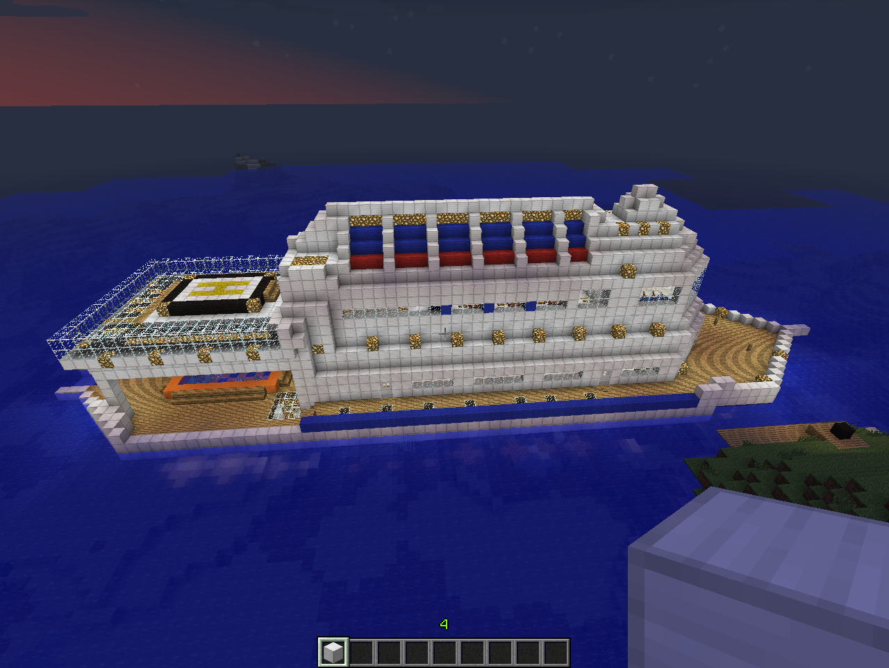 Download Boat Minecraft Cake Ideas And Designs