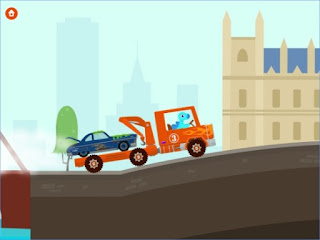 Games Dinosaur Rescue: Trucks App