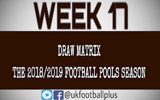 WK 17 football pools draws