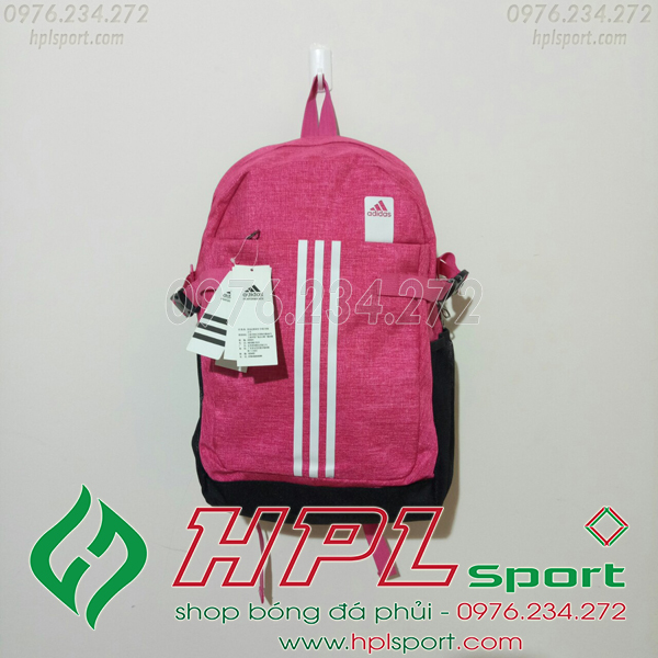Balo bóng đá đẹp Adidas - 02 màu hồng