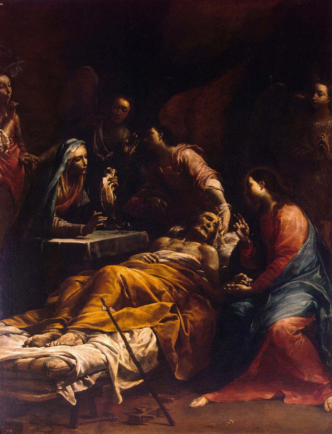 Death Of St Joseph Giuseppe Maria Crespi Endless Paintings