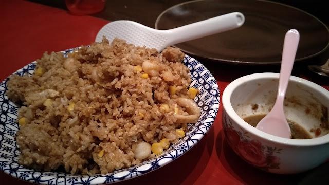 NASI GORENG SEAFOOD UNTUK DINNER