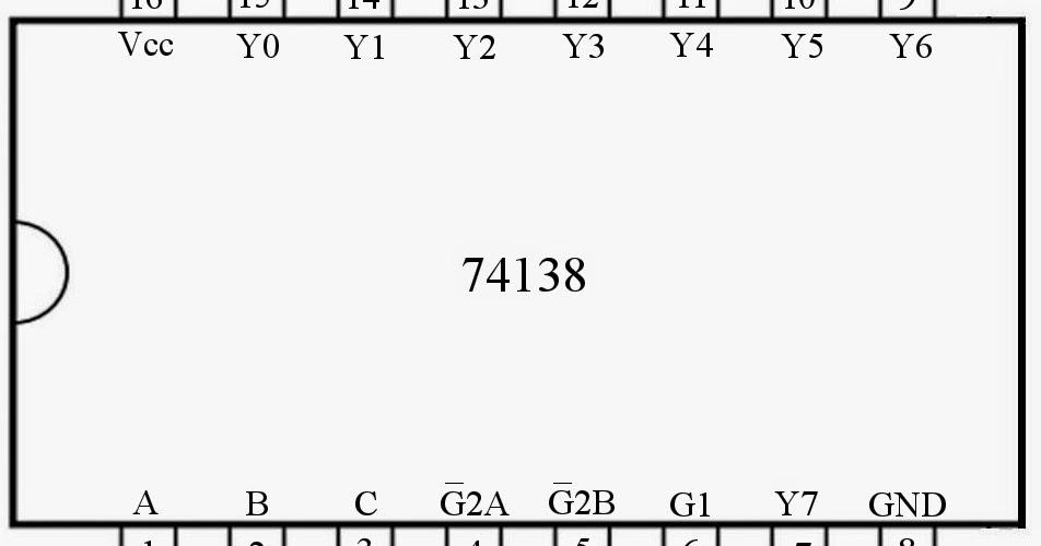 Controlling 74ls138 3 Line To 8 Line Decoder Demultiplexer