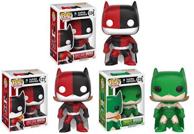 Batman Impopsters Pop! DC Comics Vinyl Figure Series by Funko – Harley Quinn Batman, Harley Quinn Batgirl & Poison Ivy Batgirl