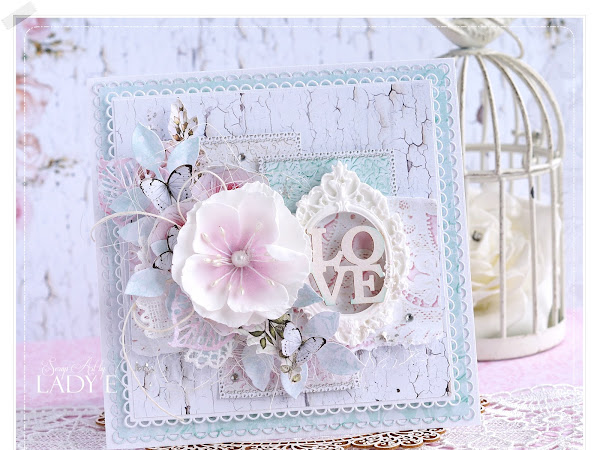 Romantic Layered Card