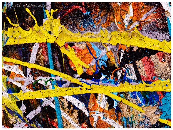faktura muru, abstrakcja makro
