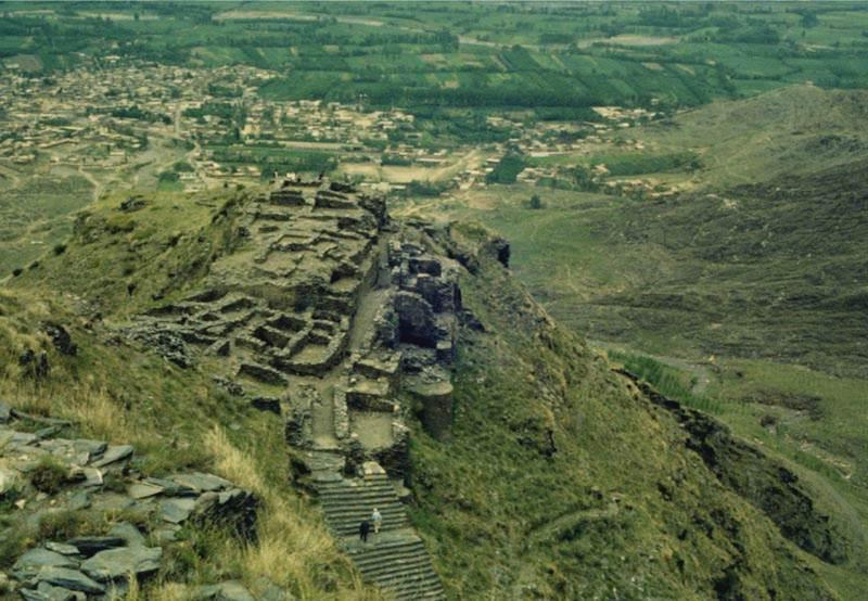 Remains of Raja Gera's Castle at Udegram in Lower Swat