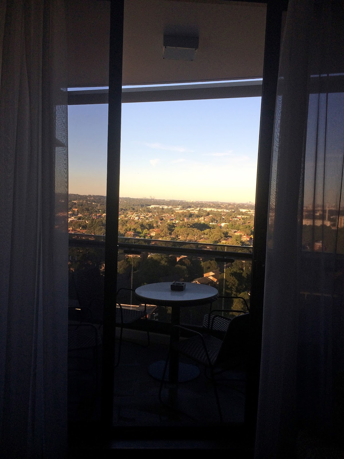 Meriton Church Street Parramatta Apartment Balcony