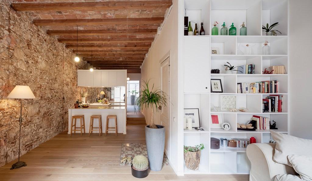 Un appartamento ristrutturato a Barcellona
