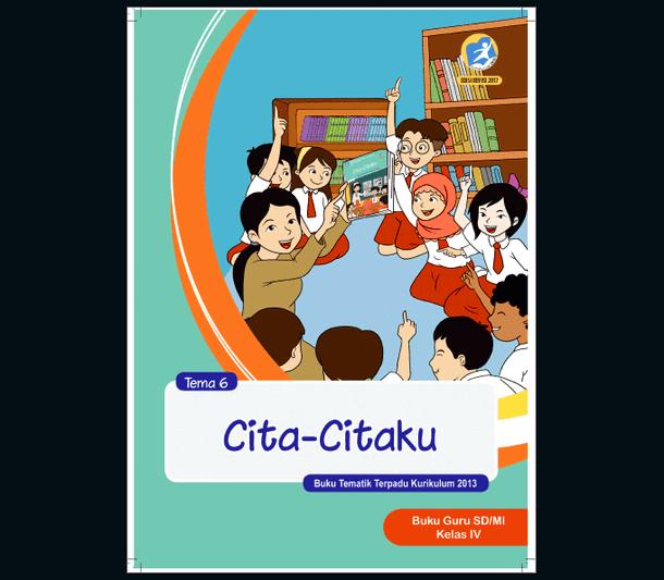Buku Guru dan Siswa Revisi 2017 SD MI Kelas 4 Kurikulum 2013 Semester 2