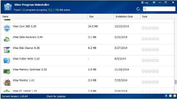 تحميل برنامج حذف البرامج  Wise Program Uninstaller v2.27 Build 122