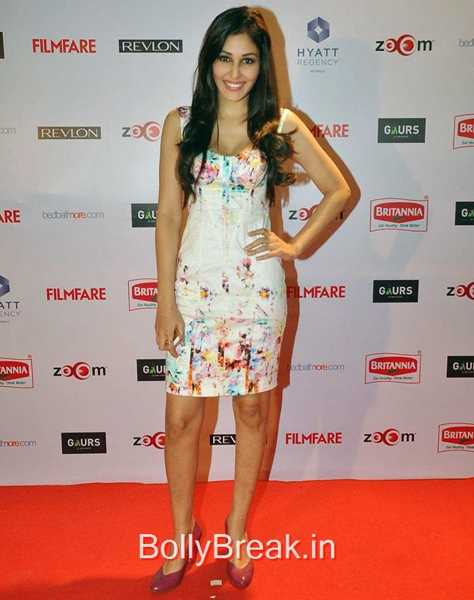 Pooja Chopra, Filmfare Awards 2015 Red Carpet Pics for Nominations Pre Party