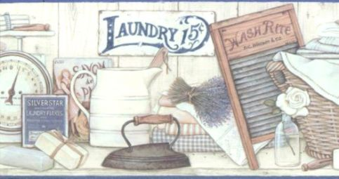 Laundry Room Wallpaper Border Wallpapers Genius