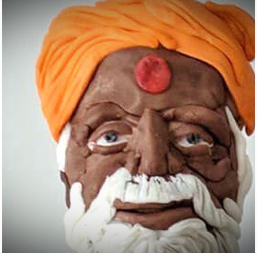 Homme Saint de Varanasi - Sharon Siriwardena de Creative Explosion Cakes