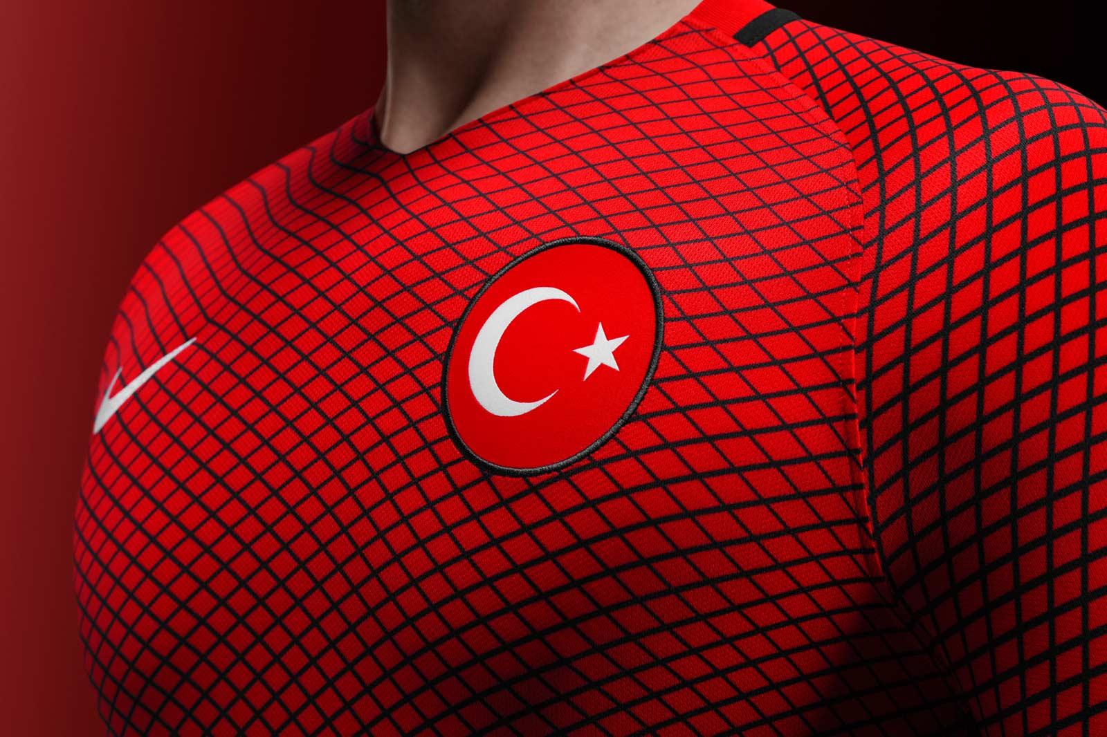 Turkey Euro 2016 Kits Released Footy Headlines