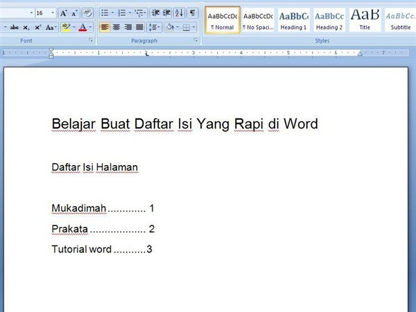 tentunya tidak asing lagi dengan tugas membuat makalah Cara Bikin Daftar Isi Otomatis Yang Rapi di Ms Word
