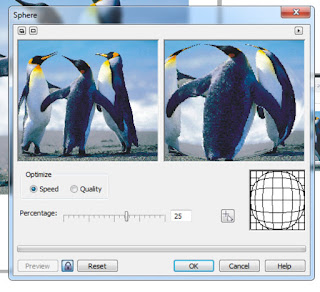 How to Give 3D Effects Sphere Images On Corel Draw