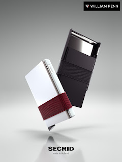 The sleek minimalist Secrid Cardslide Wallet from the Netherlands now available at William Penn