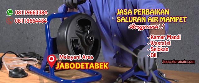 Jasa Saluran Air Mampet di Depok WA 08119663384