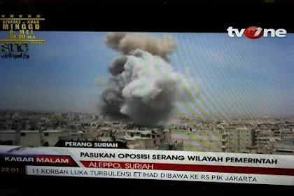 TVOne Malah Putar Balikan Fakta, Ketika Muslim Suriah Menangis