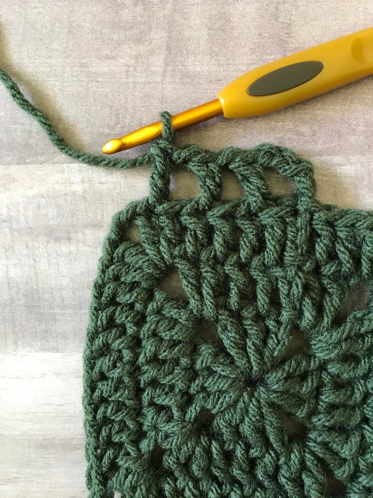 Granny Filet Square Afghan Crochet Pattern Maria S Blue