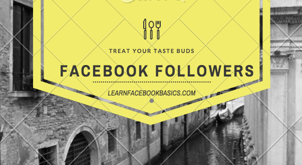 How To Turn On Followers On Facebook Profile