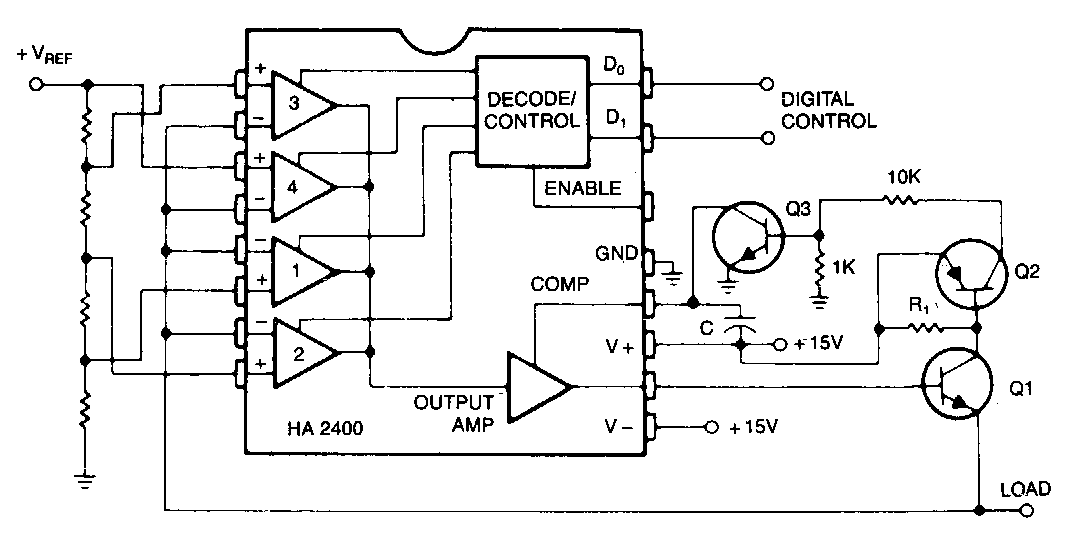 Build a Programmable Power Supply Circuit Diagram