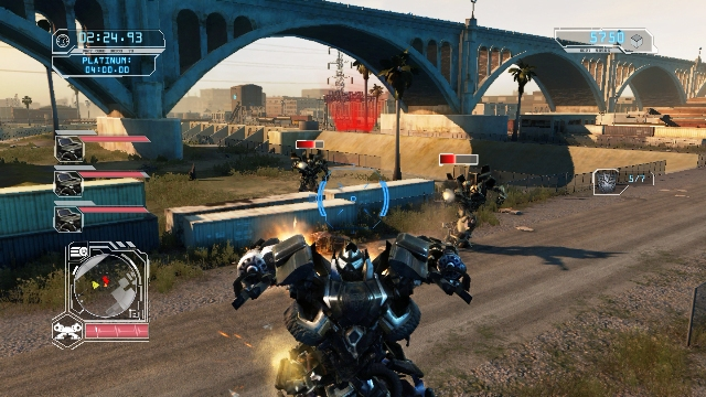 Download Transformers Revenge of the Fallen PC Gameplay