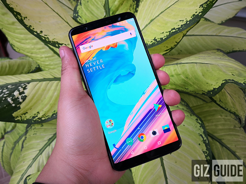 OnePlus 5T's official price in the Philippines starts at PHP 26,990!