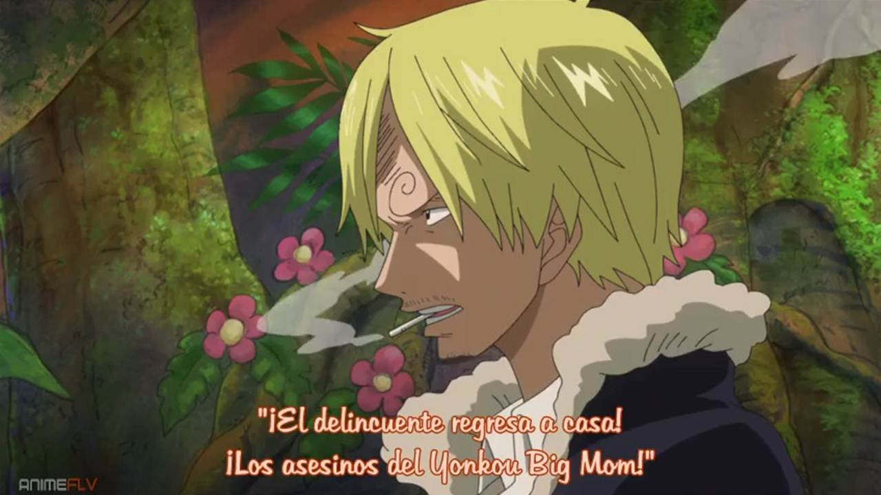One Piece Anime cap 762 sub español