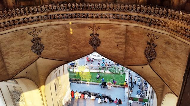 Charminar - 16th century Indo Islamic construction - Hyderabad India