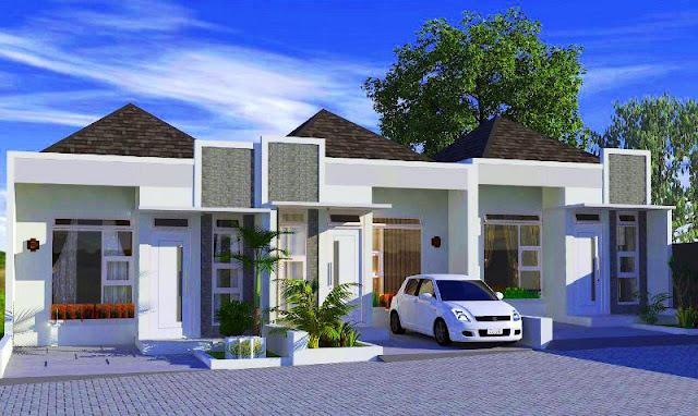 rumah bebas bank di kelapa dua depok