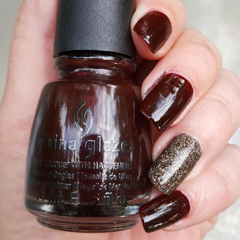Dark and Vampy Manicure - <em>Lustrous Lacquer</em>