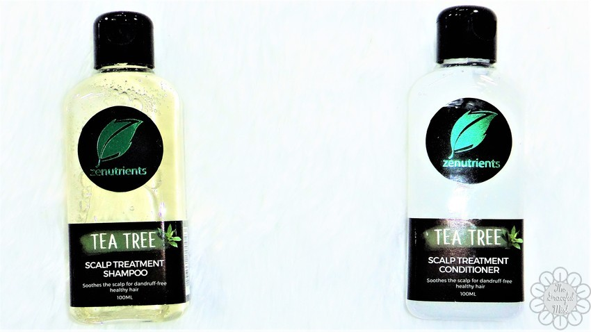 No More Dandruff and Flakes with Zenutrients` Tea Tree Scalp Treatment Shampoo and Conditioner | Blog Review by +The Graceful Mist (www.TheGracefulMist.com) | Product/s from www.SampleRoom.PH