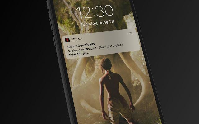 Netflix Smart Downloads for iOS