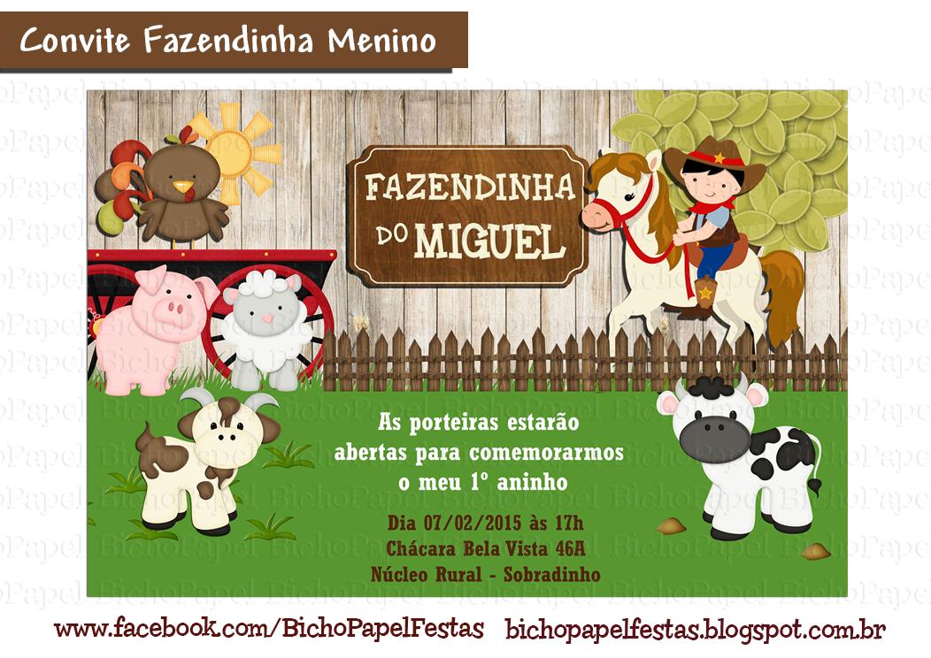 Casinha De Crianca Kit Festa Fazendinha Para Imprimir Gratis