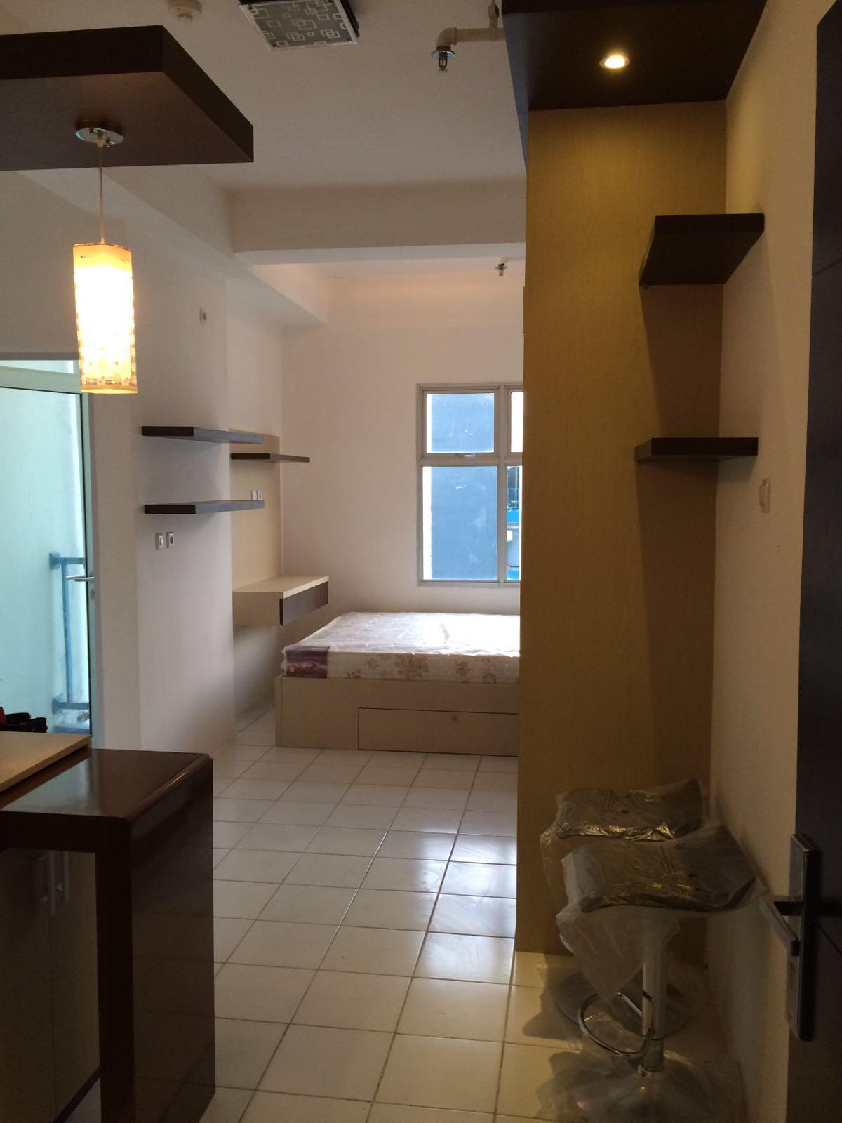 Gambar interior apartemen type studio infinity interior jakarta - Gambar interior design ...