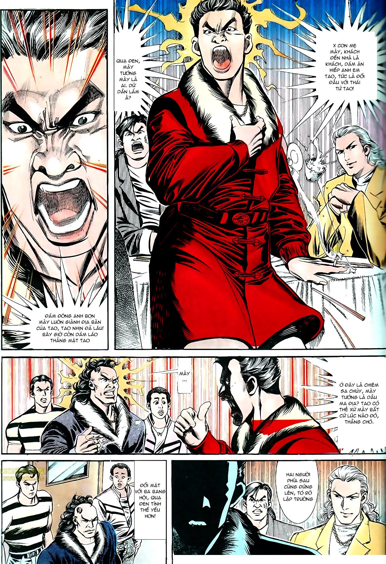 Người Trong Giang Hồ chapter 153: xích mích trang 6