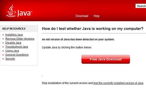Java, Java images