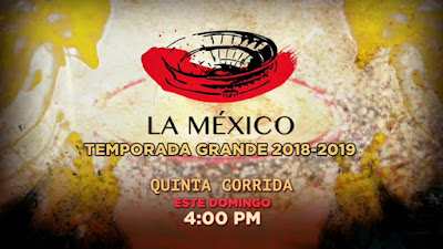 quinta corrida toros plaza mexico 2018 temporada grande