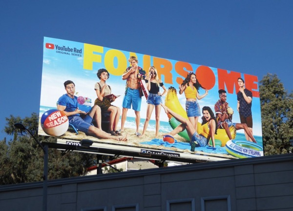 Foursome season 3 YouTube Red billboard