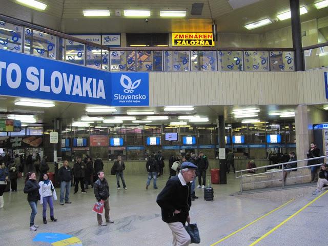 Bratislava Hlavna stanica, vestibulo estacion central