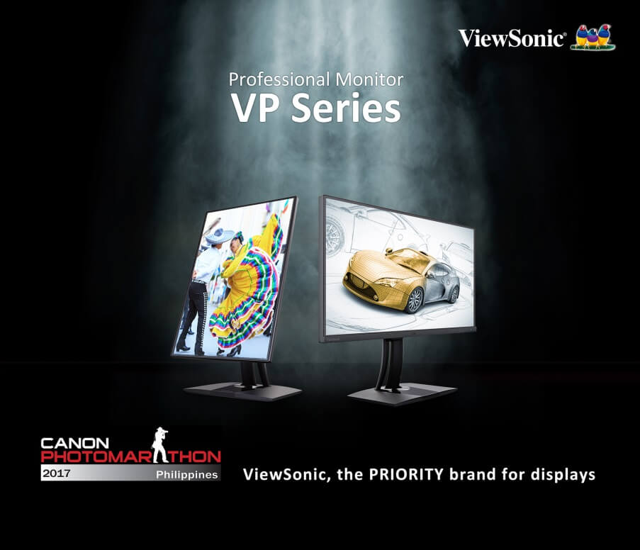 ViewSonic Showcases Professional Monitors at Canon Photomarathon Philippines 2017